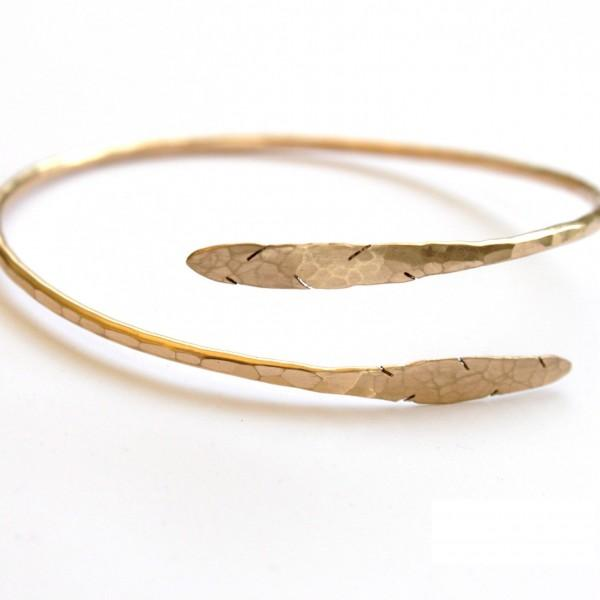 Feather Bangle Bracelet | Made Jackson Hole