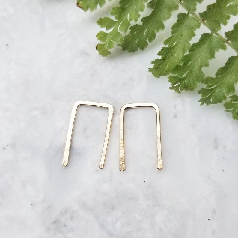 Mini Staple Hoops