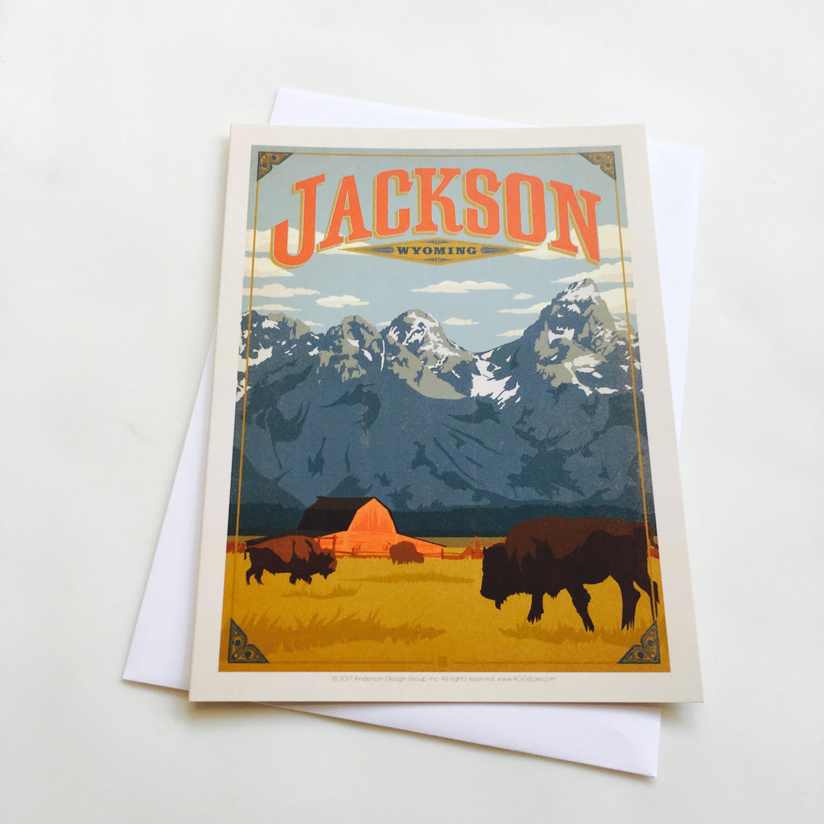 Jackson Hole Greeting Card