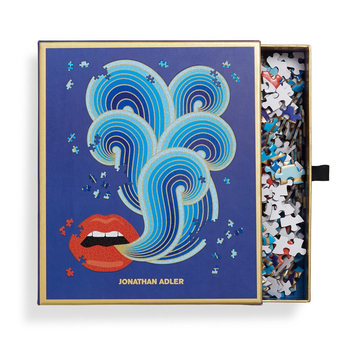 Jonathan Adler Lips 750 Piece Puzzle