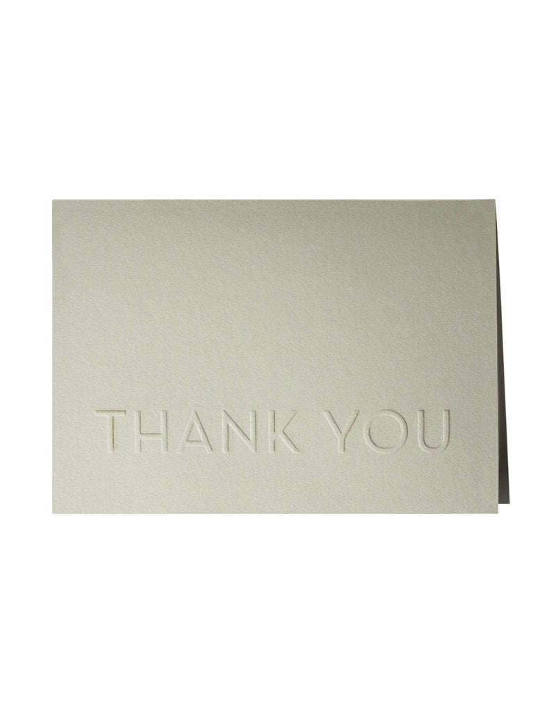 Embossed Thank You Box Set