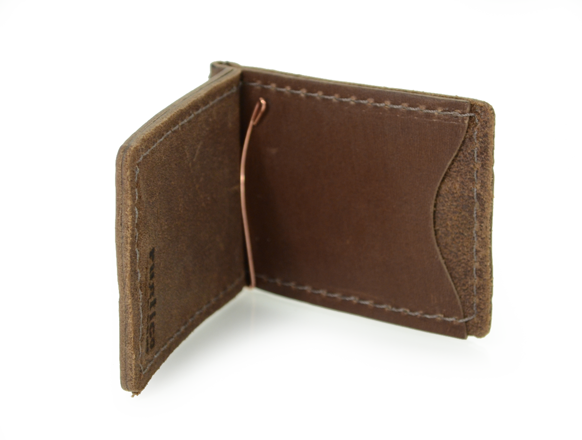 Leather Wallet/Money Clip