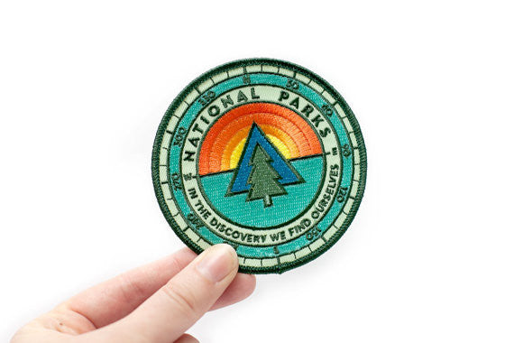 National Parks Sunrise Sticker/Patch