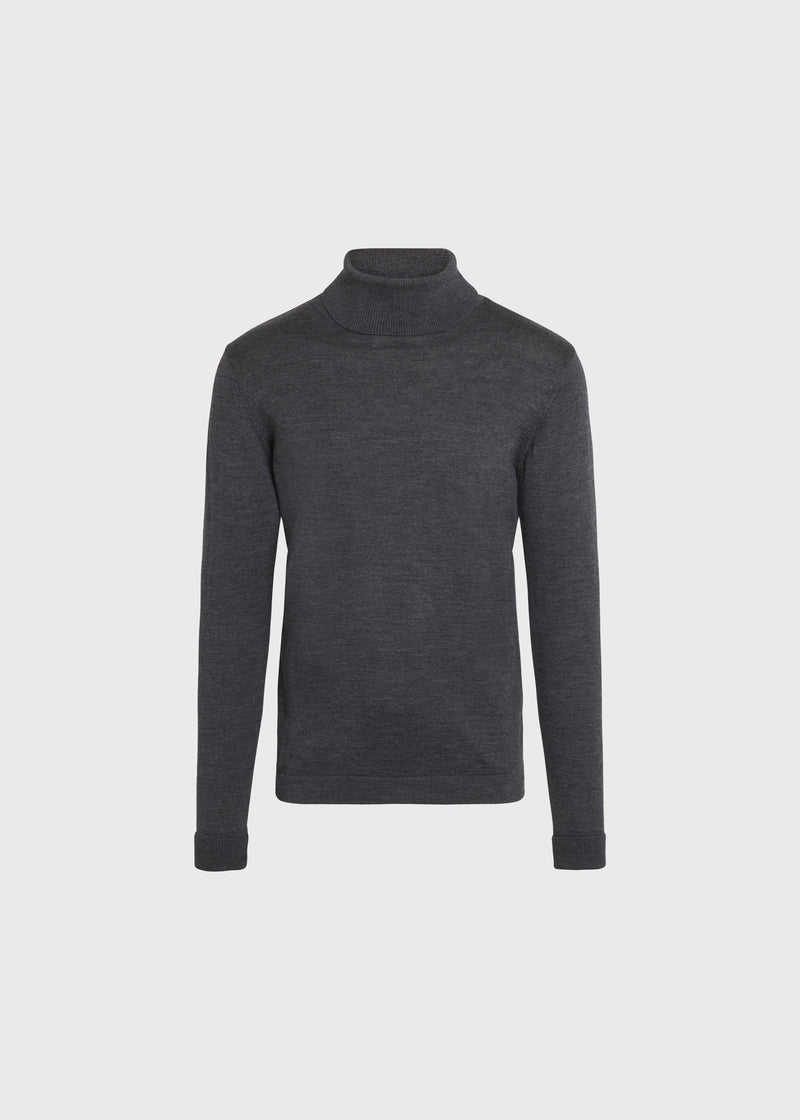 Klitmøller Collective ApS Anders knit Knitted sweaters Anthracite
