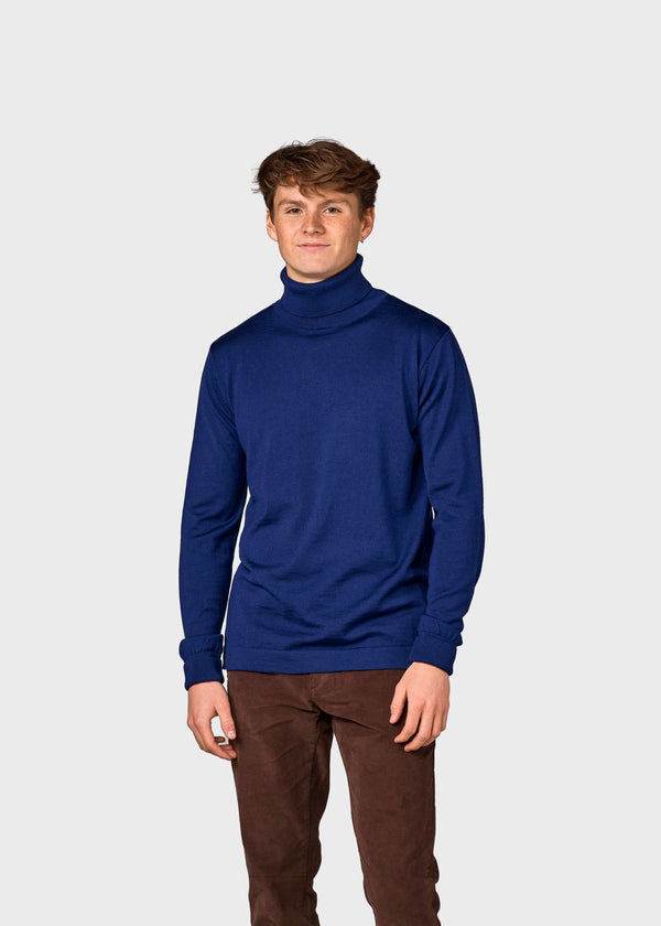 Klitmøller Collective ApS Anders knit Knitted sweaters Ocean
