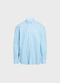Basic shirt - Blue melange