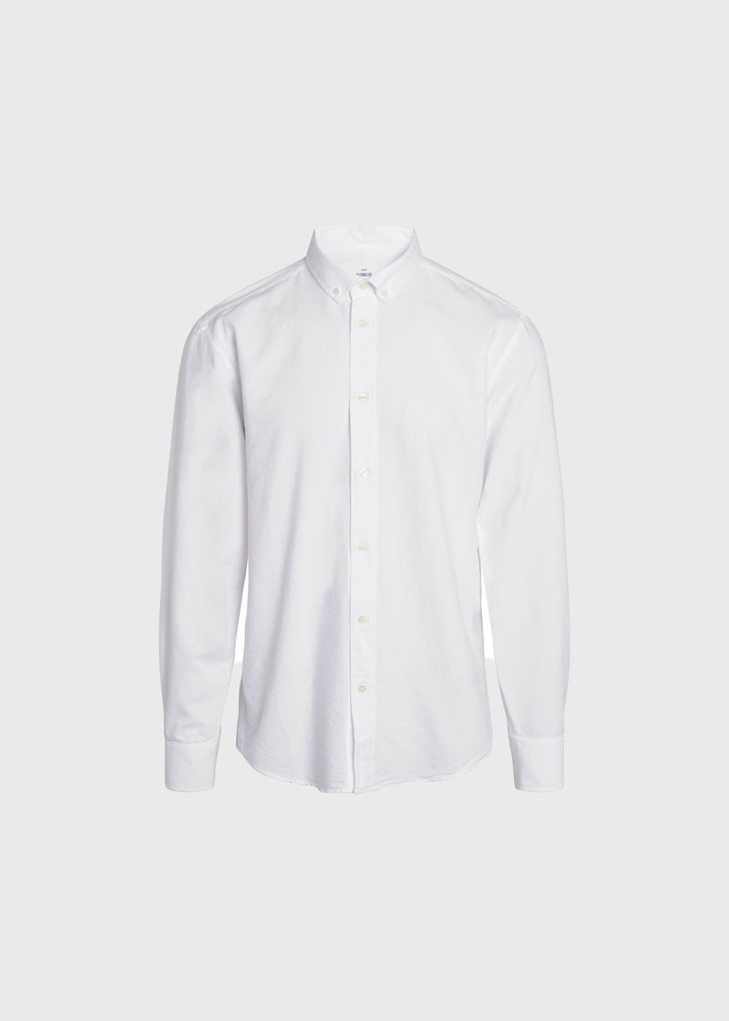 Klitmøller Collective ApS Basic shirt Shirts White