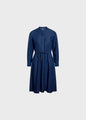 Cornelia dress - Dark blue chambrey