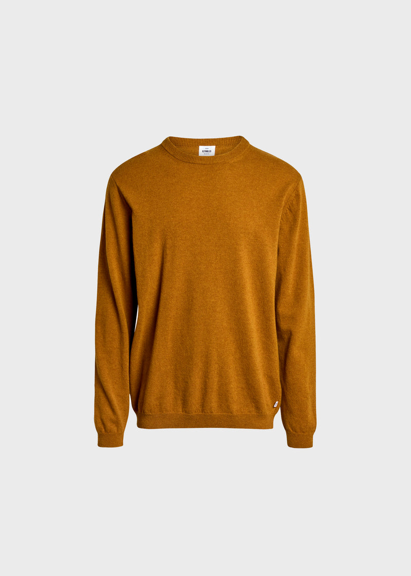 Klitmøller Collective ApS Daniel knit Knitted sweaters Amber