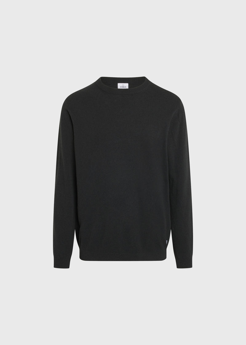 Klitmøller Collective ApS Daniel knit Knitted sweaters Olive