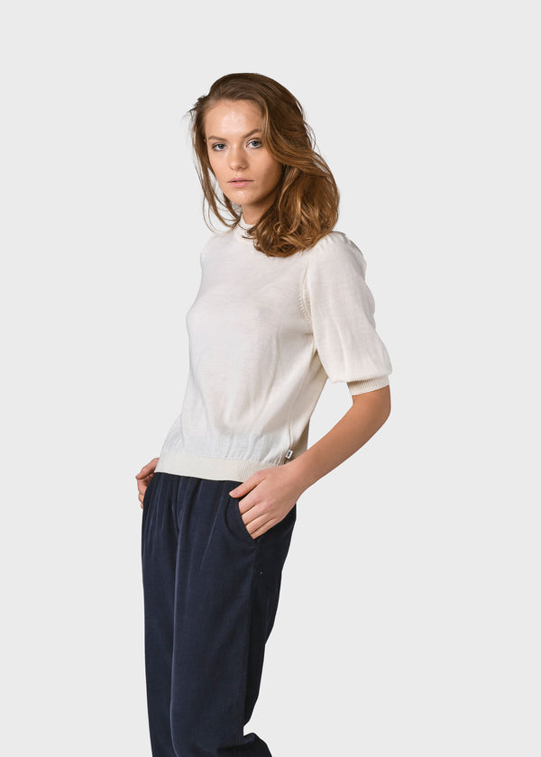 Klitmøller Collective ApS Ella knit Knitted sweaters Cream
