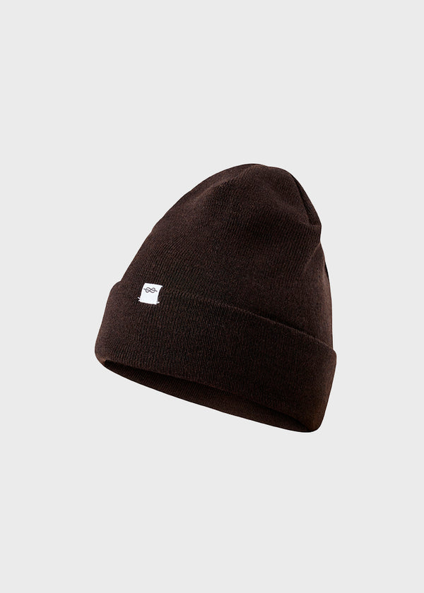 Klitmøller Collective ApS Fine rib beanie Beanies Earth
