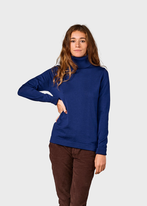 Klitmøller Collective ApS Isabella knit Knitted sweaters Ocean