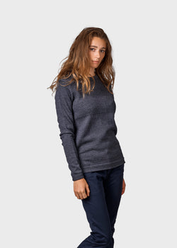 Klitmøller Collective ApS Johanne knit Knitted sweaters Anthracite