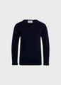 Kids fisher cotton knit - Navy