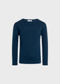 Kids fisher cotton knit - Ocean