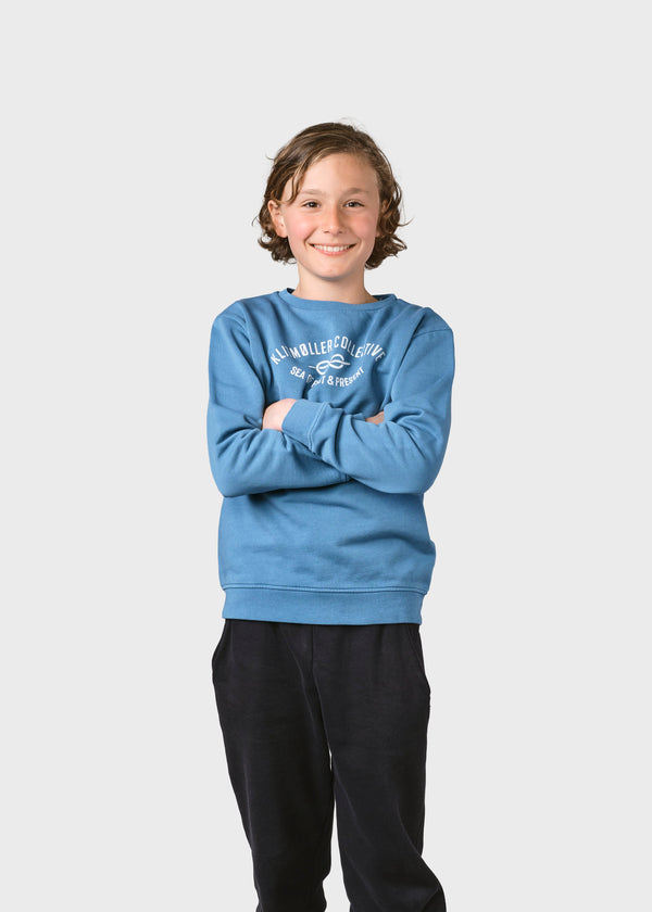 Klitmøller Collective ApS Kids logo eye crew Sweatshirts Heaven