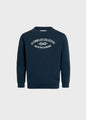 Kids logo eye crew - Navy