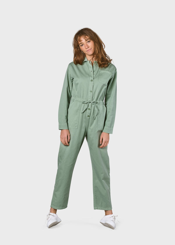 Klitmøller Collective ApS Lena Jumpsuit Jumpsuits Pale green