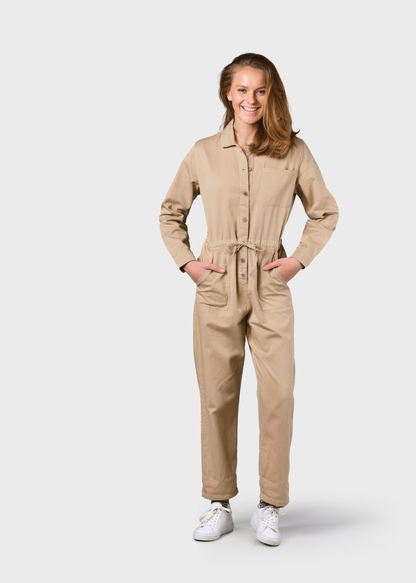 Klitmøller Collective ApS Lena Jumpsuit Jumpsuits Sand