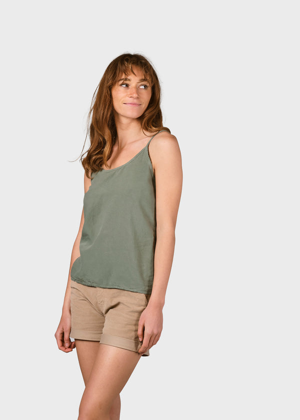 Klitmøller Collective ApS Lili tank top T-Shirts Pale green