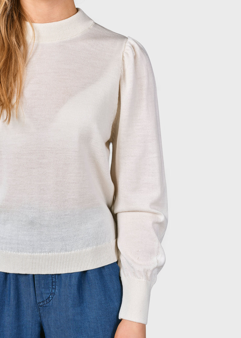 Klitmøller Collective ApS Lola knit Knitted sweaters Cream
