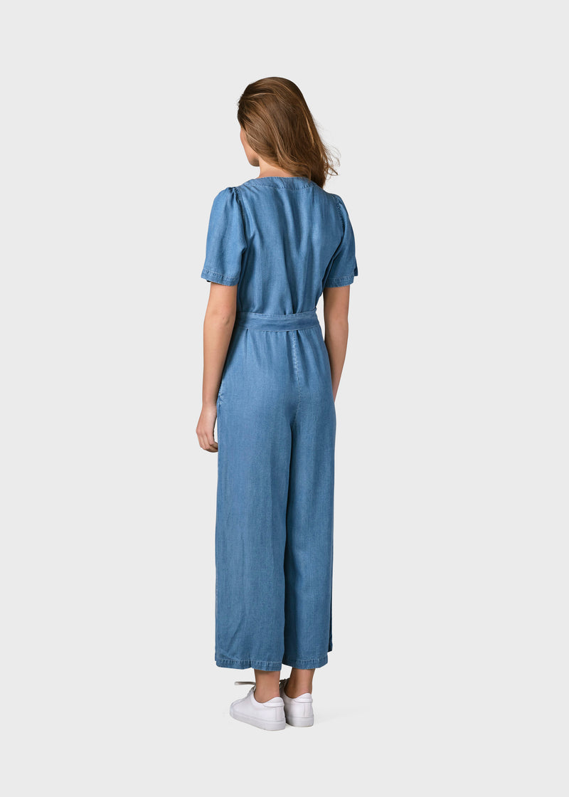 Klitmøller Collective ApS Marna jumpsuit Jumpsuits Light blue chambrey