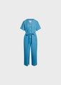 Marna jumpsuit - Light blue chambrey