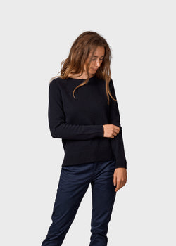 Klitmøller Collective ApS Nina knit Knitted sweaters Black