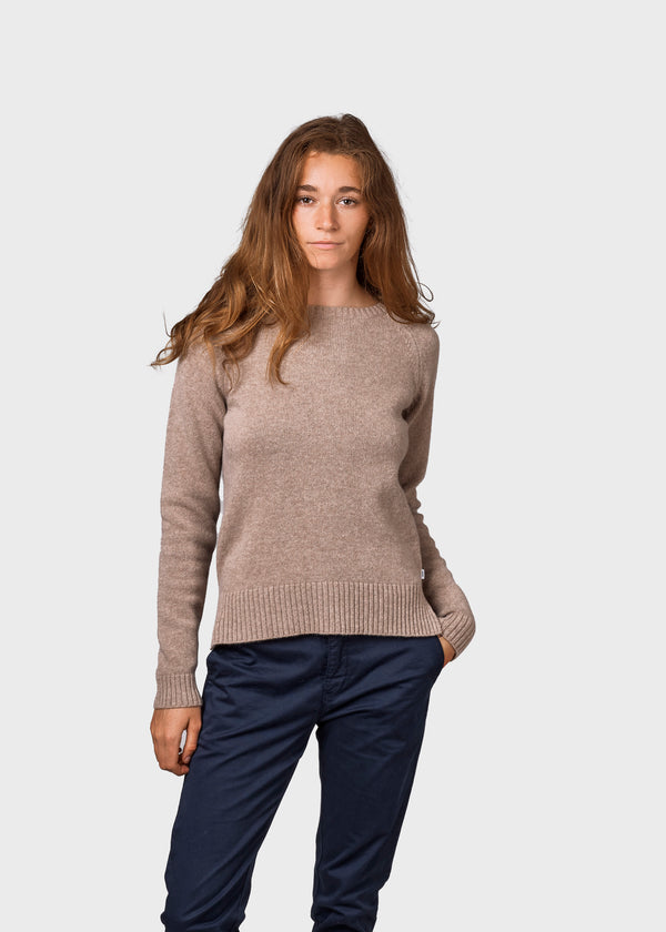 Klitmøller Collective ApS Nina knit Knitted sweaters Sand