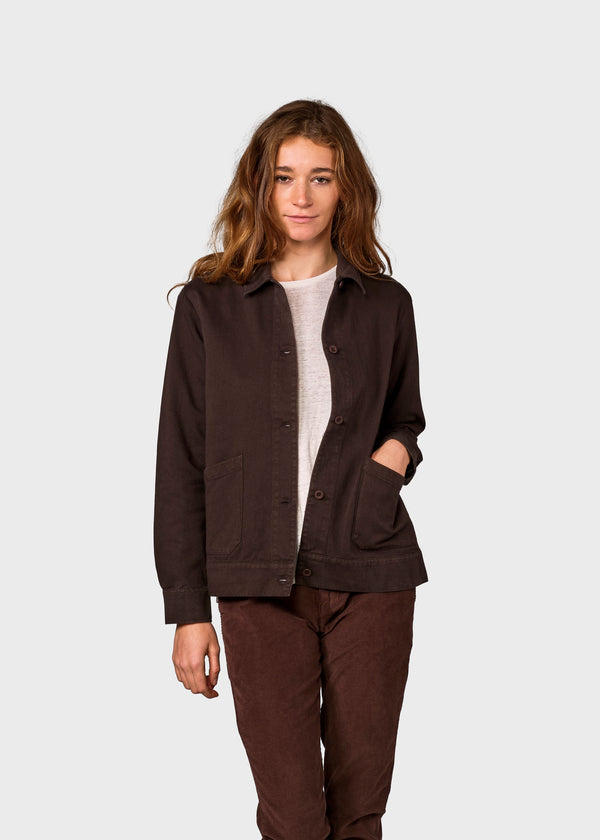 Klitmøller Collective ApS Rita twill jacket Jackets Earth
