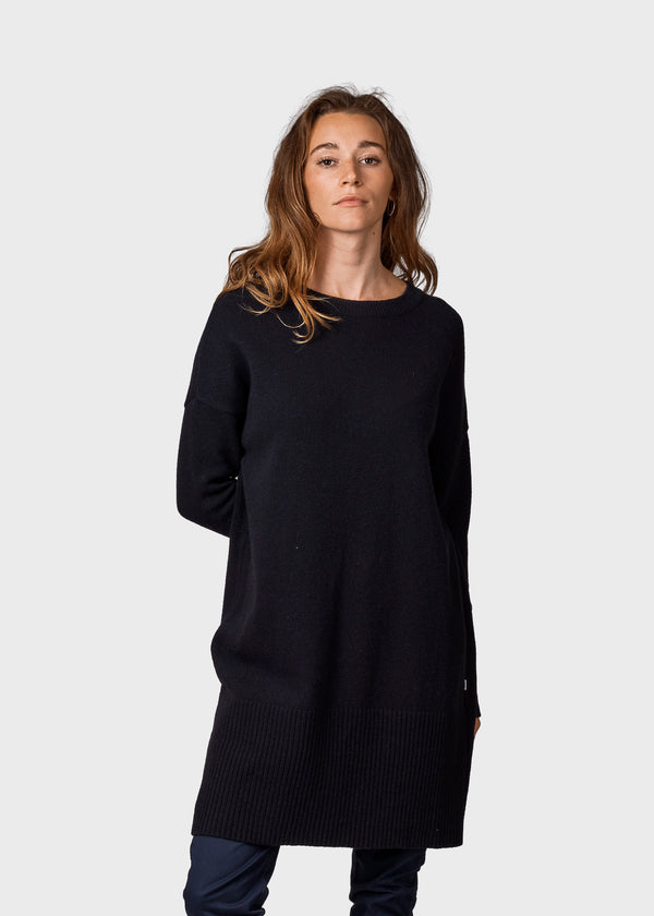 Klitmøller Collective ApS Thea Knitted sweaters Black