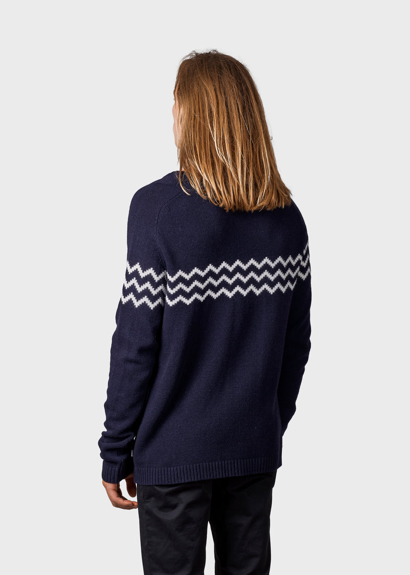 Klitmøller Collective ApS Cecilie knit Knitted sweaters Amber/cream