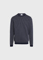 Otto knit - Navy/cream