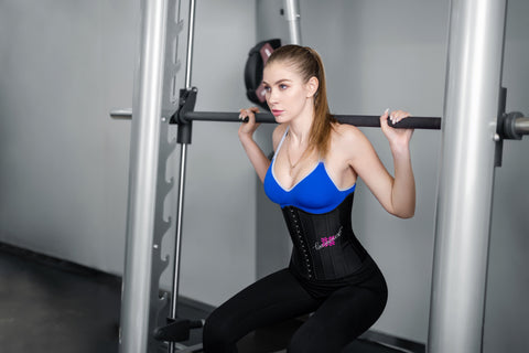 workout with waist trainer
