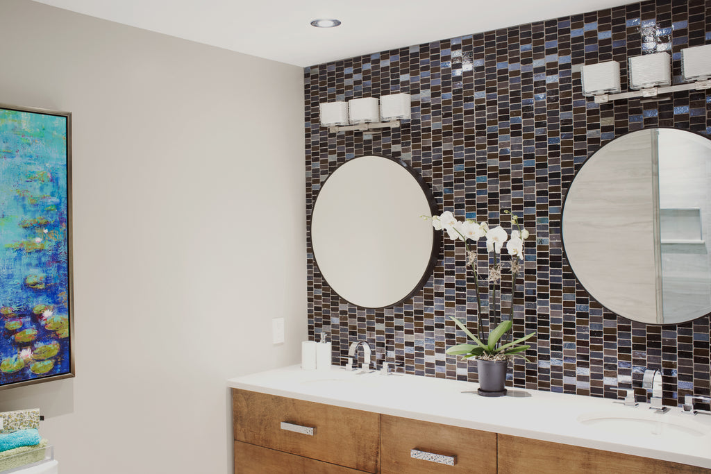 Ottawa condo ensuite bathroom design