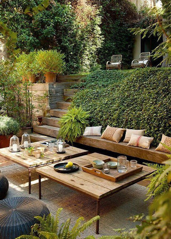 Interior Design - Greenery - Patio