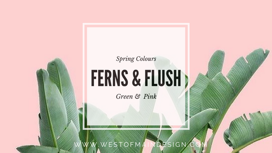 SPRING INTERIOR DESIGN COLOURS - CANVA