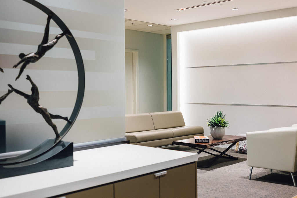 Soloway Wright Law Firm Ottawa Design - Waiting Area