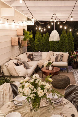 Patio Interior Design - String Lights