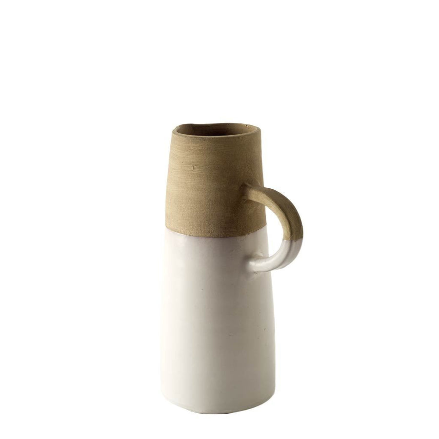 Hindley Ceramic Jug with White Glaze