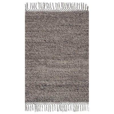 Calacatta Grey Rug. Multicoloured grey toned wool rug. Hand-loomed in India.
