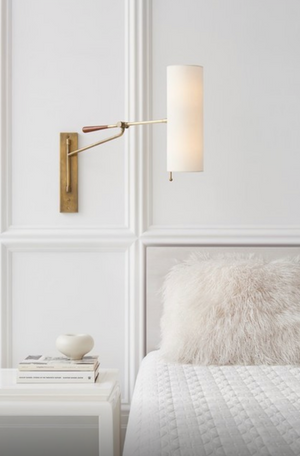 Frankfort Articulating Wall Sconce Light lifestyle