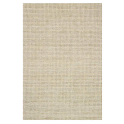Atrani Antique Ivory Rug. Textured hand hooked wool rug. Handcrafted in India.