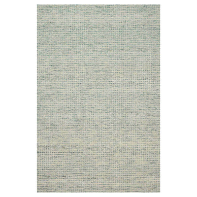 Atrani Spa Rug. Green wool rug. Textured, hand hooked rug. Made in India.