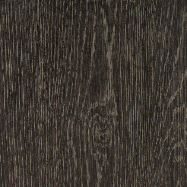 Closeup of the oak wood grain and autumn grey finish on the Nuremberg Nightstand.