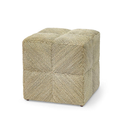 The Indio Stool is artisanally made using abaca rope over a hardwood frame.
