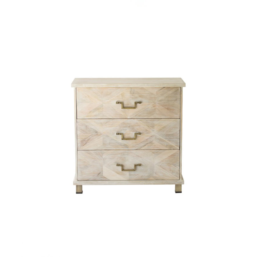 Justinian 3 Drawer Dresser Nightstand