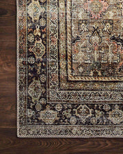 Traditional patterned neutral rug. Neutral coloured patterned rug.