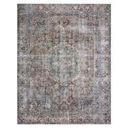 Garda Taupe / Stone Rug. Traditional pattern rug. Beige and grey rug. Affordable rug with patina.